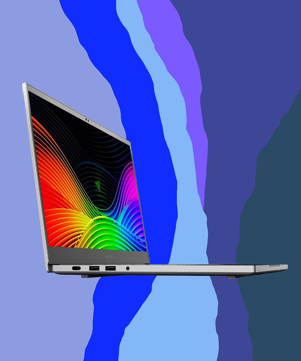 "<br><br><strong>Razer Blade</strong> 15, $, available at <a href=""https://go.skimresources.com/?id=30283X879131&url=https%3A%2F%2Fwww.ebay.com%2Fitm%2FRazer-Blade-15-Mid-2019-Full-HD-144Hz-RTX-2070-512-GB-Mercury%2F392682523083"" rel=""nofollow noopener"" target=""_blank"" data-ylk=""slk:eBay"" class=""link rapid-noclick-resp"">eBay</a>"