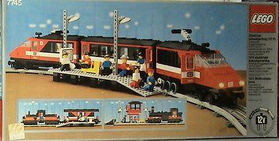 """<p>Take two things people are wildly passionate about (Lego + trains) and it's no wonder that the vintage railroad sets from the beloved brand command top dollar. Sets range from <a href=""""https://www.ebay.com/itm/LEGO-City-7939-Cargo-Train-New-Sealed-Retired-Set/273612239628?epid=1371283351&hash=item3fb48f730c:g:~dsAAOSwmLZby5Ls:rk:1:pf:0"""" rel=""""nofollow noopener"""" target=""""_blank"""" data-ylk=""""slk:Steam Cargo Trains"""" class=""""link rapid-noclick-resp"""">Steam Cargo Trains</a> to <a href=""""https://www.ebay.com/itm/Lego-Trains-7720-Diesel-Freight-Train-NEW-SEALED-1980-4-5V-Battery/201962922320?hash=item2f05eda150:g:3AMAAOSwUV9WmrEg:rk:2:pf:0"""" rel=""""nofollow noopener"""" target=""""_blank"""" data-ylk=""""slk:Diesel Freight Trains"""" class=""""link rapid-noclick-resp"""">Diesel Freight Trains</a> to <a href=""""https://www.ebay.com/itm/Lego-12V-Train-7745-High-Speed-City-Express-Passenger-Train-New-1985/201962922329?epid=149142785&hash=item2f05eda159:g:1D4AAMXQrC9SbWPv:rk:7:pf:0"""" rel=""""nofollow noopener"""" target=""""_blank"""" data-ylk=""""slk:High-Speed City Express Trains"""" class=""""link rapid-noclick-resp"""">High-Speed City Express Trains</a>, and all go for between $1,000 and $3,000. </p>"""