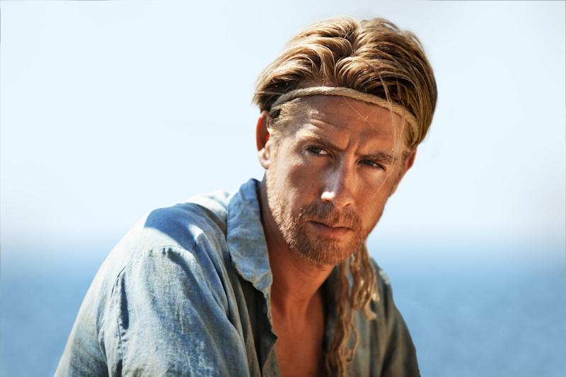 """This film image released by The Weinstein Company shows Pål Hagen in a scene from """"Kon Tiki."""" (AP Photo/The Weinstein Company)"""