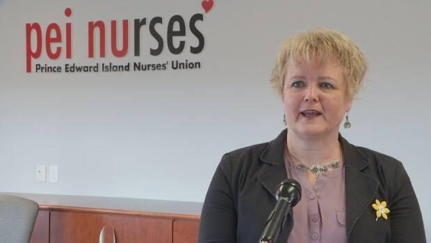 P.E.I. Nurses' Union president Barbara Brookins says some people are waiting days in the ER for an in-patient bed. (Brittany Spencer/CBC - image credit)