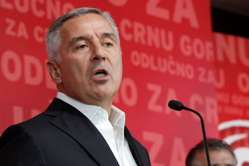 Montenegro's pro-Western ruling party falls short of majority in vote