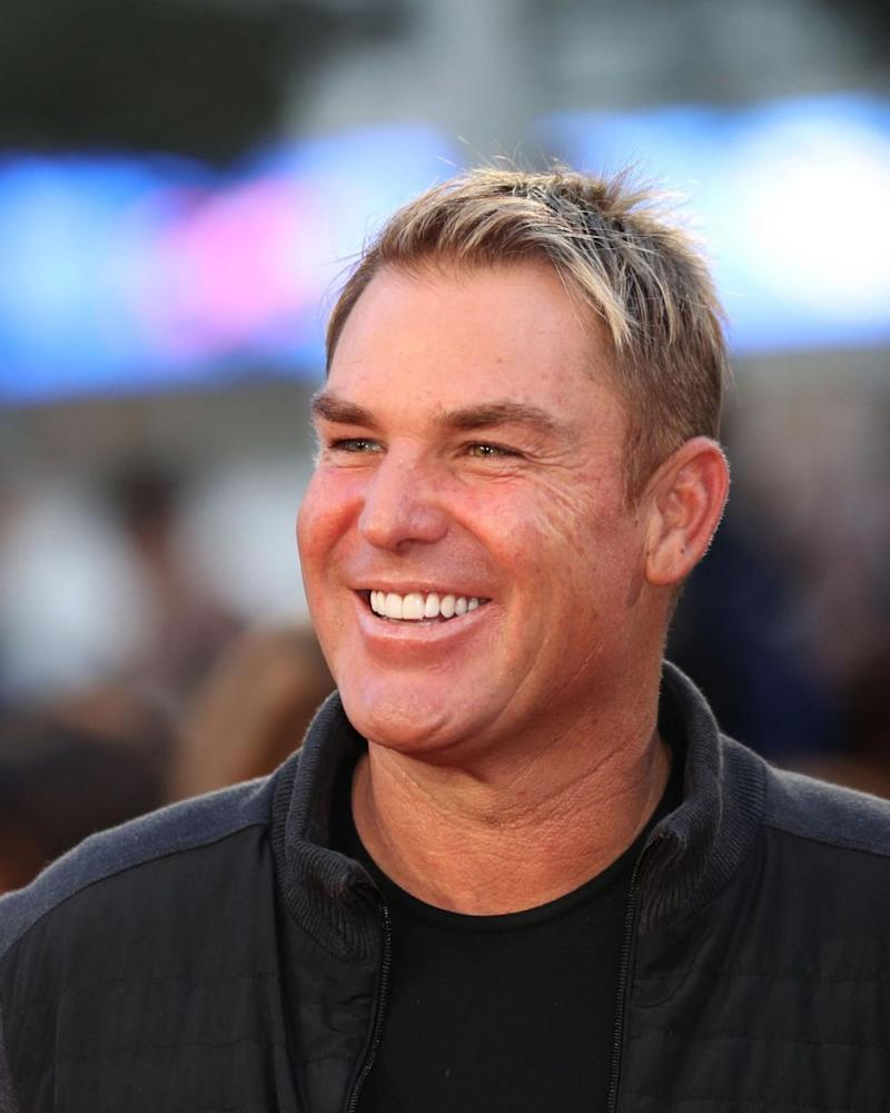 Shane Warne, pictured here last year, appears to have his eye on someone new. Source: Getty