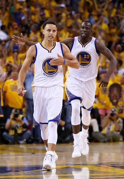 Stephen Curry and Draymond Green are back for more. (Ezra Shaw/Getty Images)