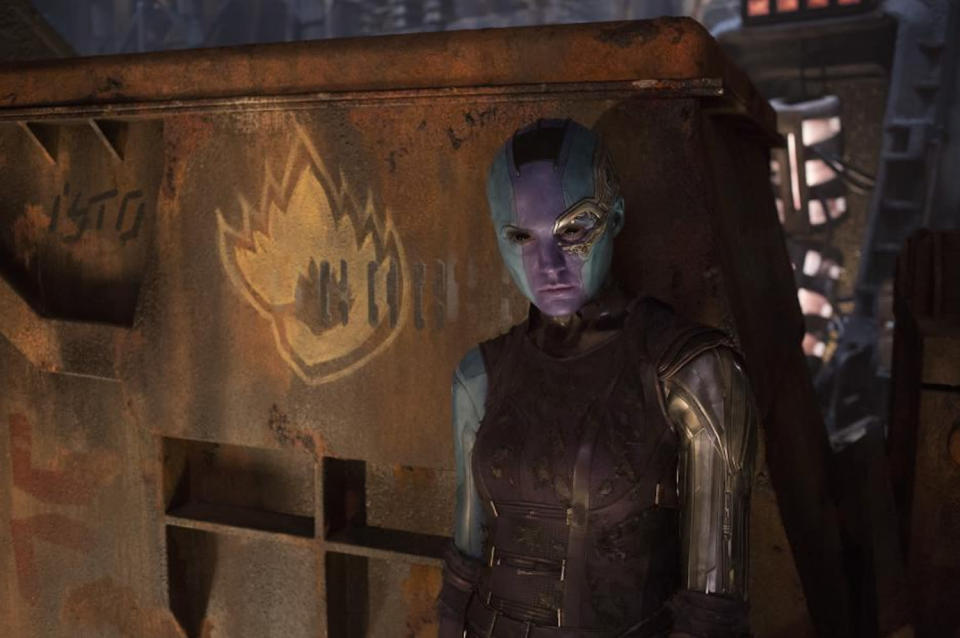 <p>The emo alien doesn't look too keen with the situation. (Photo: Marvel) </p>