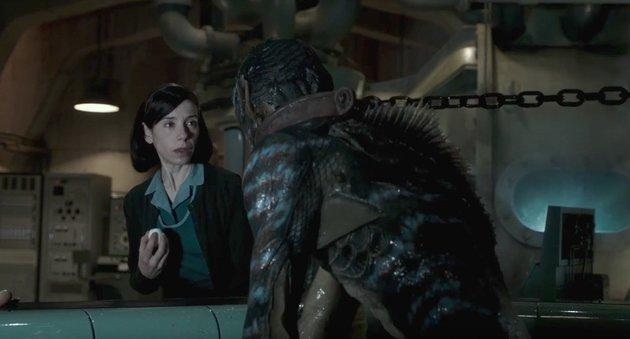 'The Shape Of Water' received the most Academy Award nominations this year, with 13 nods, including the coveted Best Picture Oscar Director Guillermo del Toro said he was heavily influenced by the 1954 B-movie 'Creature From The Black Lagoon' It took three years to develop the sea creature at the centre of the film's storyline, which Del Toro financed himself.
