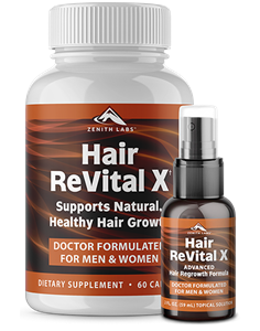 Hair ReVital X is the newest Hair Loss Dietary Supplement available online. This review will analyze if its ingredients are the perfect Hair Loss corrector, as claimed by the official webpage.