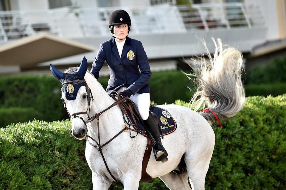 <p>It's equestrian — and daughter of Bruce Springsteen — Jessica Springsteen. </p>
