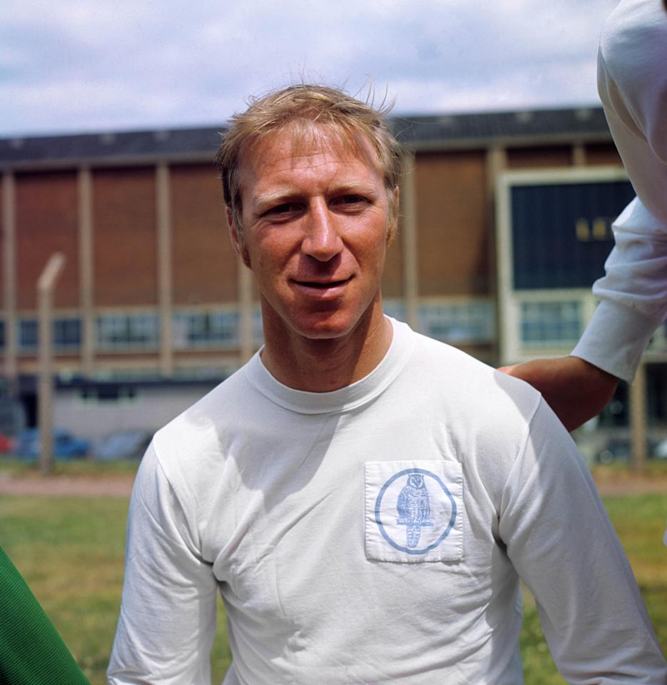 <p>Jack Charlton, Leeds United<br /> 1952-73<br /> 762 matches, 95 goals </p>