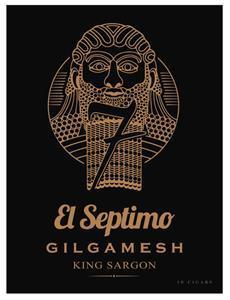 """In addition to the FIRST EDITION launch part of The Seven Collection, El Septimo will also be introducing its newest blend part of The Gilgamesh Collection, The King Sargon. This 6"""" x 52 blend has tobacco aged for up to ten years. The fuller-bodied cigar will retail at $20/stick and will be sold in Boxes of 10 & 20. Products will be shipped starting June 1st."""