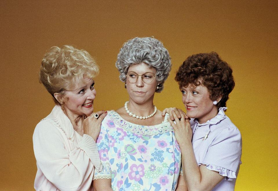 <p>Before they took their iconic <em>Golden Girls </em>roles, White and McClanahan worked together on the sitcom <em>Mama's Family</em>, that starred Vickie Lawrence. </p>