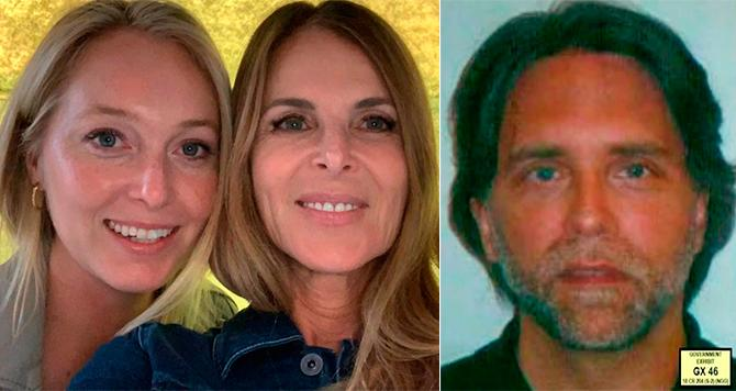 India Oxenberg y su madre Catherine (Instagram/catherineoxenberg) – Keith Raniere (Dominio Público, US Government, Eastern District of NY)