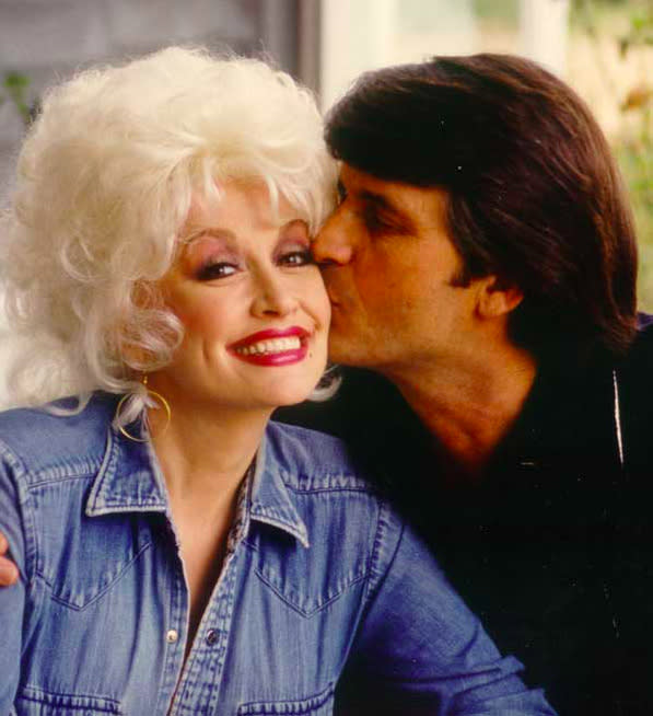 A rare photo of Dolly Parton and her husband, Carl Dean. (Photo: DollyParton.com)