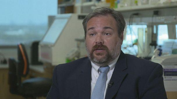 PHOTO: Dr. Benjamin Greenberg, a neurologist at the University of Texas Southwestern, has been researching acute flaccid myelitis for over a decade. (ABC News )