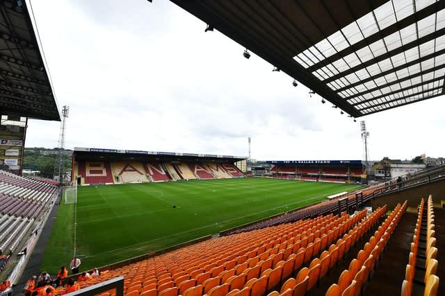 Bradford believe their stadium could be empty for the rest of 2020 (Dave Howarth/PA)