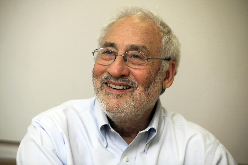 "Joseph Stiglitz, a winner of the Nobel Prize in Economics, is interviewed at Columbia University,in New York,  Thursday July 26, 2012.  He is the author of the new book ""The Price of Inequality.""   In his new book, he connects surging student loan debt, the real-estate bubble and many of the country's other problems to greater inequality.(AP Photo/Richard Drew)"