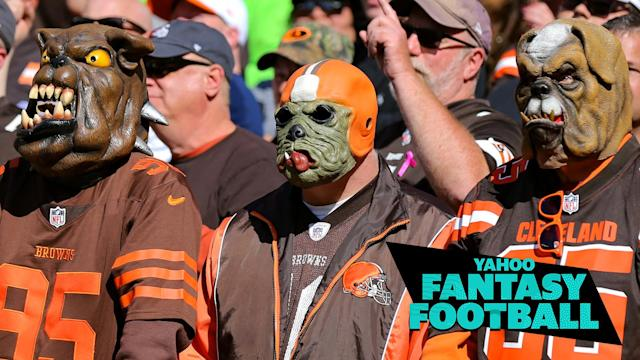 The Cleveland Browns ranked very high in Liz Loza & Matt Harmon's power rankings of most dysfunctional NFL franchises. (Photo by Frank Jansky/Icon Sportswire via Getty Images)