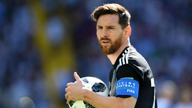 Lionel Messi cannot be compared with Argentina legend Diego Maradona until he wins a World Cup, according to Mario Kempes.