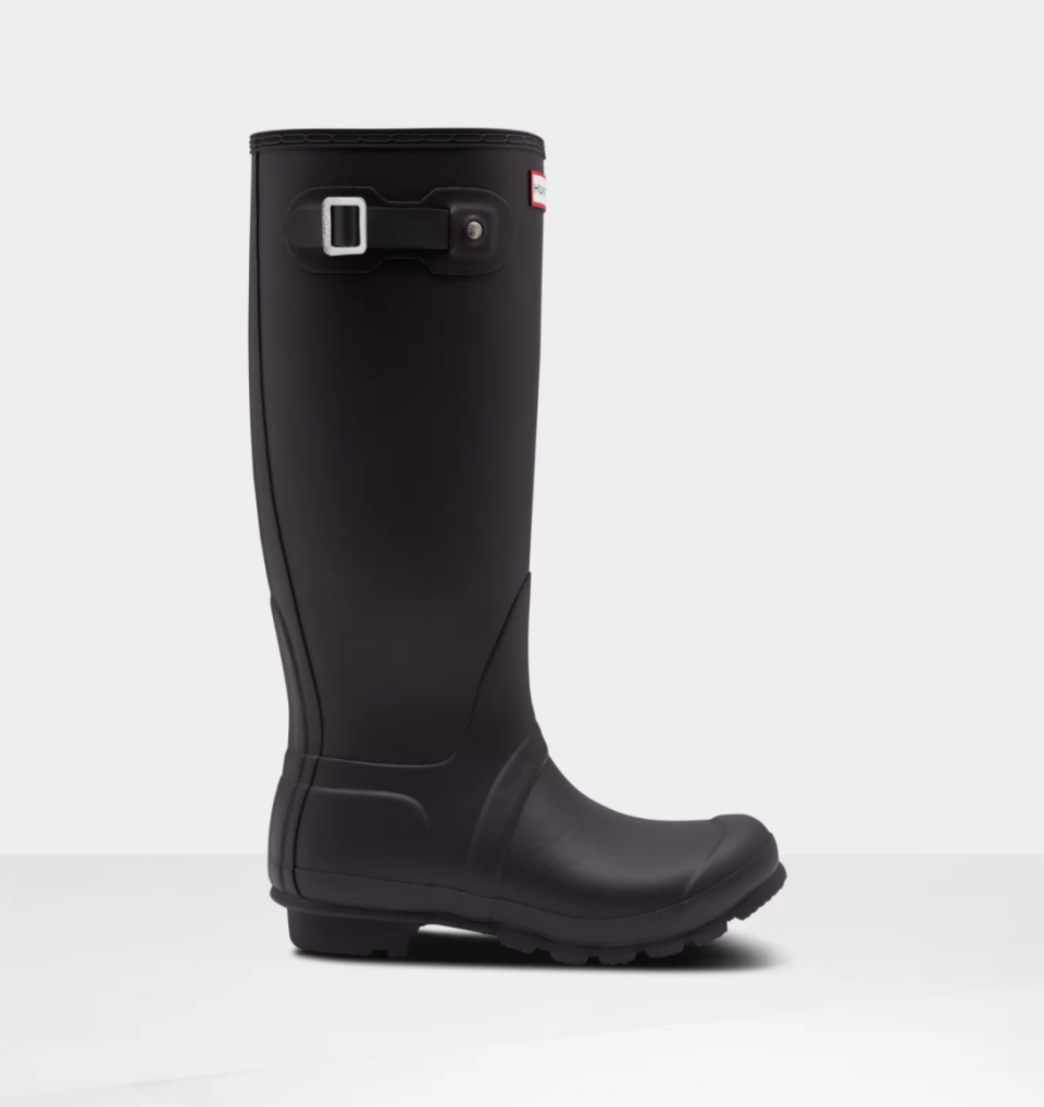 Women's Original Tall Insulated Rain Boots. Image via Hunter.