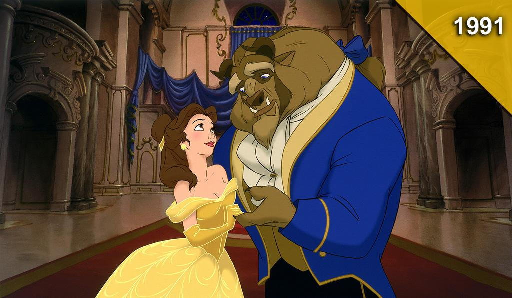 """<a href=""""http://movies.yahoo.com/movie/beauty-and-the-beast-1991/"""">BEAUTY AND THE BEAST</a> <br>Directed by: Kirk Wise and Gary Trousdale<br>Starring: Paige O'Hara, Robbie Benson"""