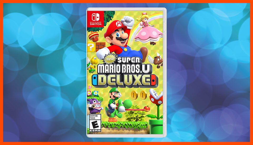 Save 35 percent on New Super Mario Bros U Deluxe. (Photo: Walmart)