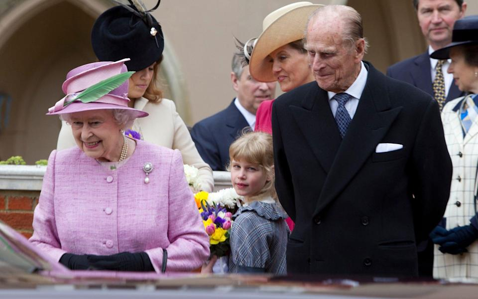 The Queen is said to be especially fond of Louise - Heathcliff O'Malley for The Telegraph