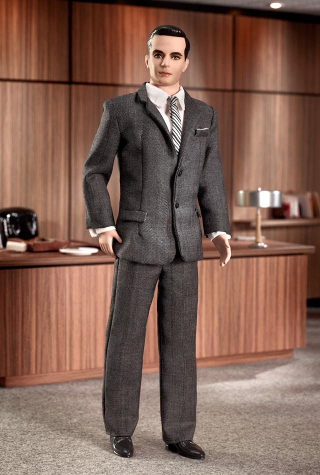 "<div class=""caption-credit""> Photo by: barbiecollector.com</div><b>""Mad Men"" Don Draper doll, released in 2010 and <a href=""http://www.barbiecollector.com/shop/doll/mad-men-don-draper-r4536"" rel=""nofollow noopener"" target=""_blank"" data-ylk=""slk:now on sale for $55"" class=""link rapid-noclick-resp"">now on sale for $55</a></b> <br> John Hamm, are you in there? No wonder this one is marked down. <br>"