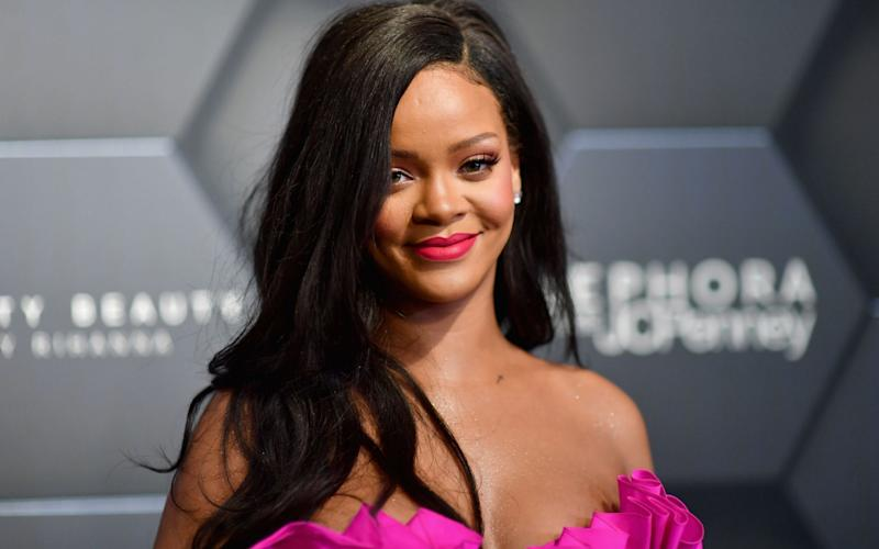 Rihanna was hailed by the prime minister of her native Barbados, Mia Amor Mottley - AFP