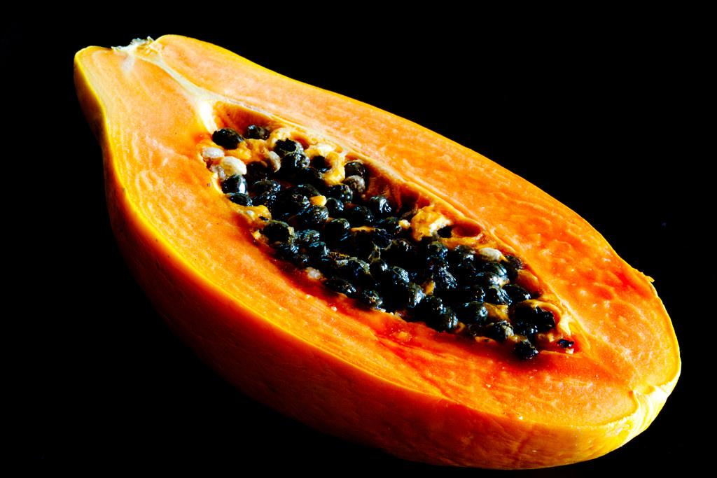 <p>Deliciously tangy-sweet with a host of beauty and health benefits, papaya has a huge fan following, including Christopher Columbus who legend says called it the Fruit of the Angels. It's a natural source for a whole host of healthy vitamins, nutrients, enzymes, and minerals, including calcium, iron, vitamins A, C, E and K, magnesium, bioflavonoids, and the powerful enzyme papain. Here are some of the beauty benefits of this humble fruit.<br />Photograph: jar [o]/Flickr </p>