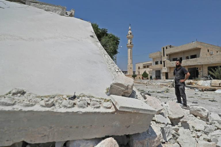 The fighting, including Russian and Syrian air strikes, has brought devastation on Idlib since April