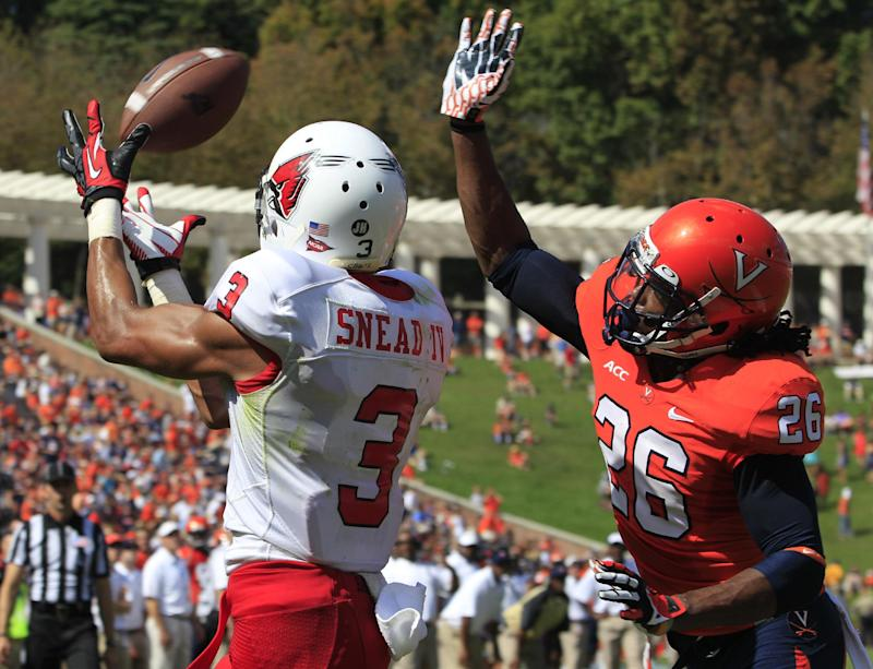 Wenning leads Ball State past Virginia 48-27