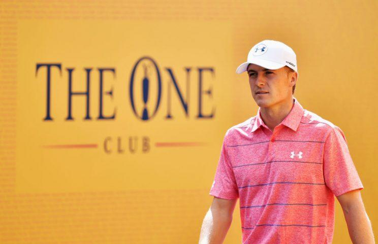 Jordan Spieth is on the march toward his first Open Championship. (Getty)