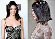 """<p><b>When: February 2017 </b><br>Kendall Jenner got her locks chopped in time for the La Perla runway show during New York Fashion Week—and we gotta say, she looks absolutely stunning.<br>""""I had Jen Atkin cut it at a curve, so it's a little bit longer in the front and super short in the back — I feel like a boy … and I love it,"""" Jenner wrote on her blog about the new 'do. """"It's Fashion Week, so why not try something new?"""" We're loving the new style too!<br>(Photos: Getty/February 2017) </p>"""