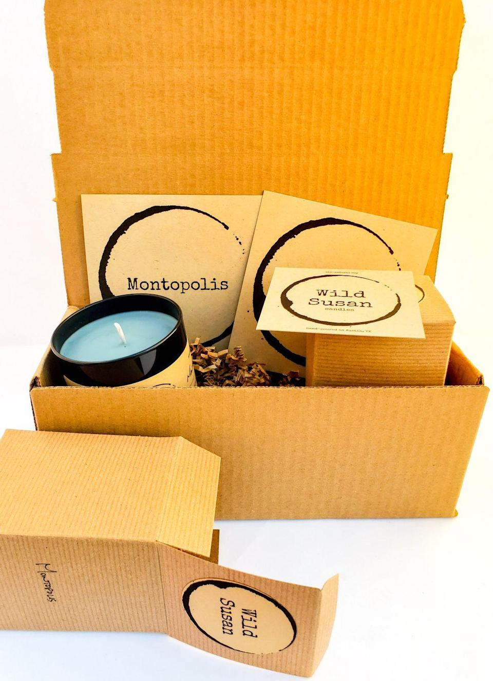 """<p><strong>Perfect for:</strong> the clean candle lover. Created in Austin, each candle you'll receive is made from soy wax, cotton wicks, and phthalate-free fragrance. A month-to-month subscription for a two-candle box is $51, or you can prepay all at once and save a bit of cash down the line. <a class=""""link rapid-noclick-resp"""" href=""""https://wildsusan.cratejoy.com/subscribe/"""" rel=""""nofollow noopener"""" target=""""_blank"""" data-ylk=""""slk:SHOP"""">SHOP</a></p>"""