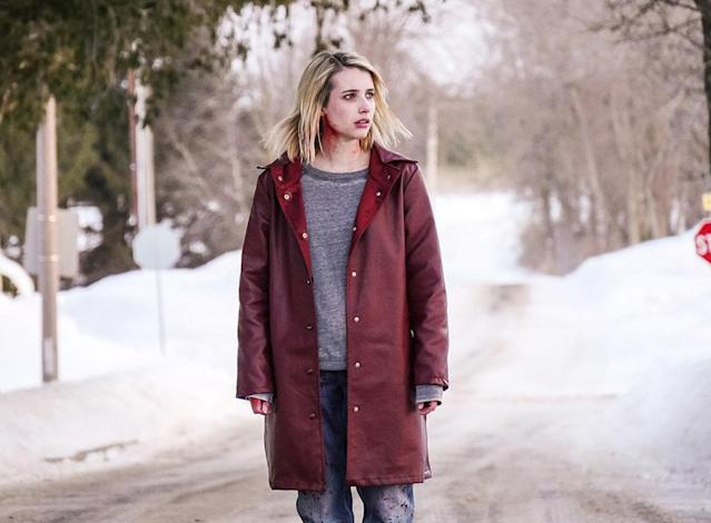 <p>Oz Perkins's feature directorial debut is a horrorshow of dark, malevolent mystery, charting the increasingly nightmarish predicament faced by both a young girl (<i>Mad Men</i>'s Kiernan Shipka) stuck at her boarding school over winter break, and another woman (Emma Roberts) trying to make her way to that educational facility. —<i>N.S.</i> (Photo: A24)<br><br></p>