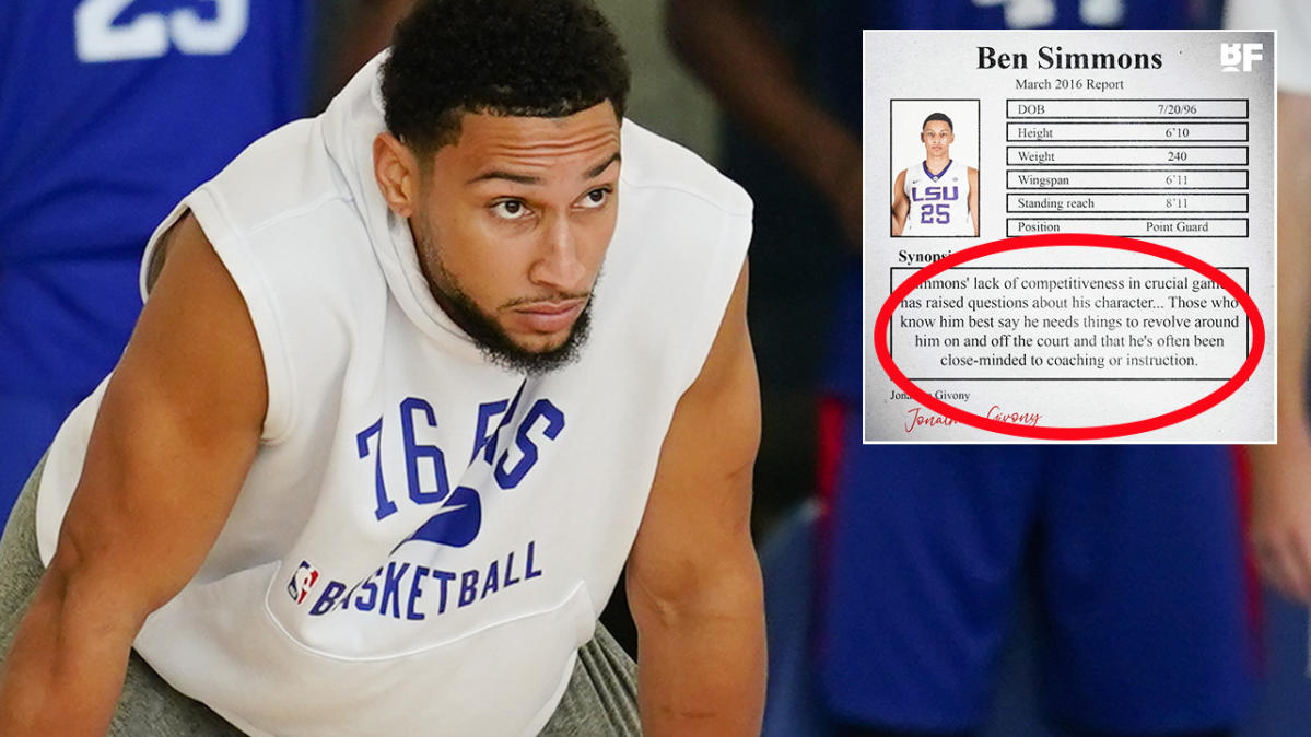 Five-year-old photo exposes 'troubling' truth about Ben Simmons