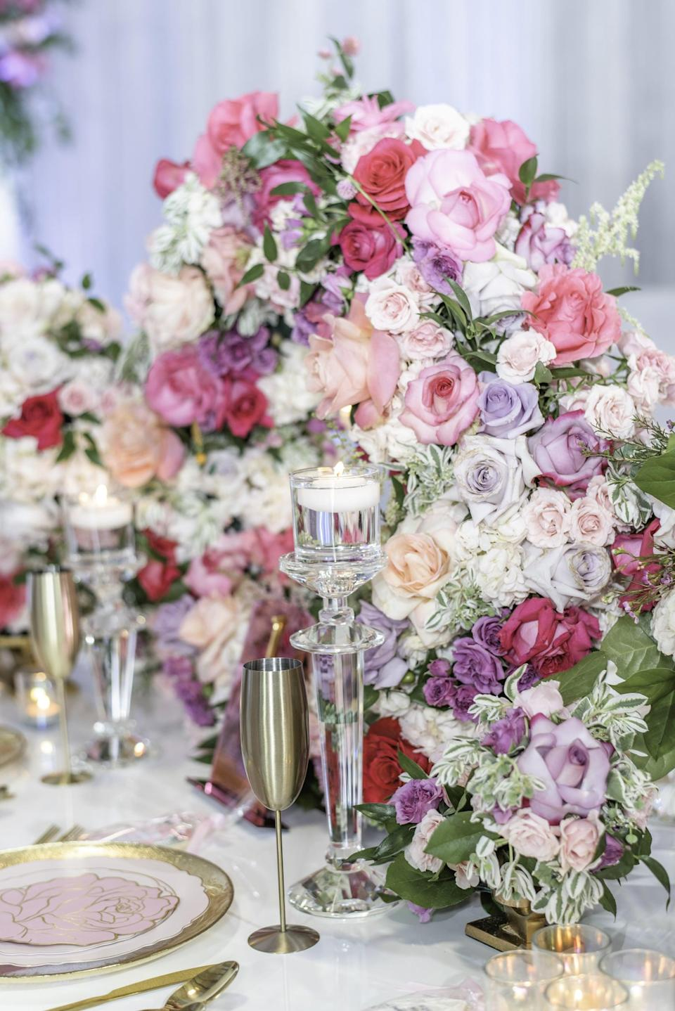 <p>Shower your bride with a flower-filled day when you incorporate her favorite florals into her celebration. This theme is perfect if your bride is all about great photo ops because flowers make for the best backdrop. We suggest having a chic tea time or afternoon picnic as the main event for this kind of party theme.</p>