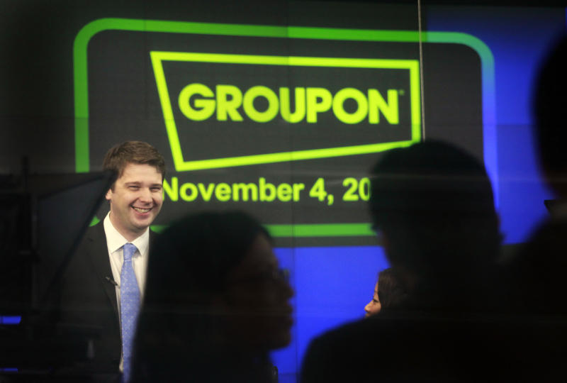 Ex-Groupon CEO working 9 to 5 on business album