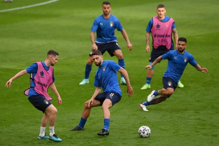 Italy made a strong start to the tournament with three wins in the group stage