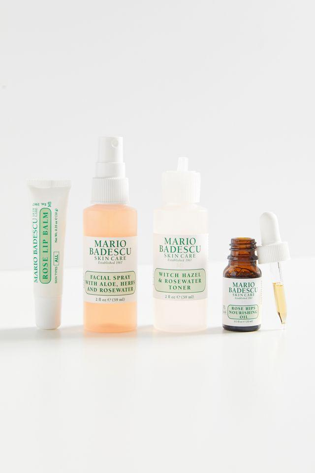 """<h2>Mario Badescu Mini Must-Haves Set</h2><br><strong>Best For: Best Friend<br>Budget: $22</strong><br>This Mario Badescu skincare kit features four of the brand's cult favorites that'll keep you friend feeling refreshed & renewed — you know they deserve it. <br><br><em>Shop <strong><a href=""""https://www.urbanoutfitters.com/brands/mario-badescu"""" rel=""""nofollow noopener"""" target=""""_blank"""" data-ylk=""""slk:Urban Outfitters"""" class=""""link rapid-noclick-resp"""">Urban Outfitters</a></strong></em><br><br><strong>Mario Badescu</strong> Mini Must-Haves Set - Rose Edition, $, available at <a href=""""https://go.skimresources.com/?id=30283X879131&url=https%3A%2F%2Fwww.urbanoutfitters.com%2Fshop%2Fmario-badescu-mini-must-haves-set-rose-edition%3Fcategory%3Dmakeup-gift-sets%26color%3D000%26type%3DREGULAR%26size%3DONE%2520SIZE%26quantity%3D1"""" rel=""""nofollow noopener"""" target=""""_blank"""" data-ylk=""""slk:Urban Outffiters"""" class=""""link rapid-noclick-resp"""">Urban Outffiters</a>"""
