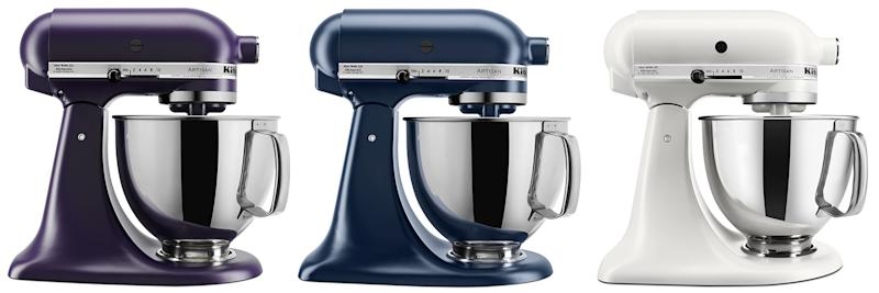 Kitchenaid mixers (Photo: Kitchen Aid)