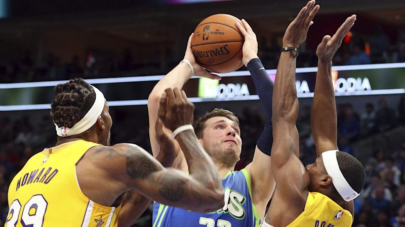 Frustrated Luka Doncic Rips Jersey Plays With It That Way
