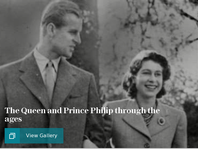 The Queen and Prince Philip through the ages