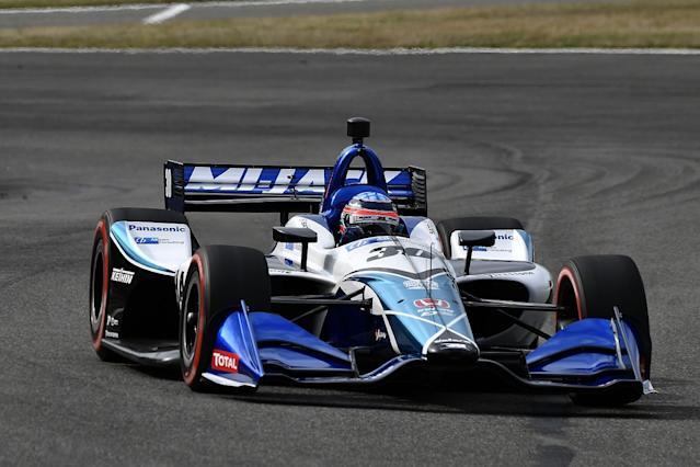 Dominant Sato controls Barber IndyCar race