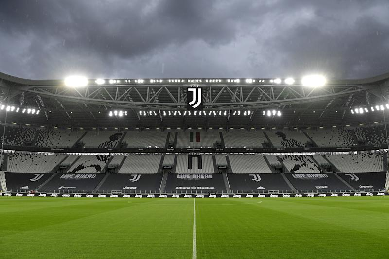 TURIN, ITALY - OCTOBER 04: General view inside the stadium before the Serie A match between Juventus and SSC Napoli at on October 04, 2020 in Turin, Italy. (Photo by Filippo Alfero - Juventus FC/Juventus FC via Getty Images)