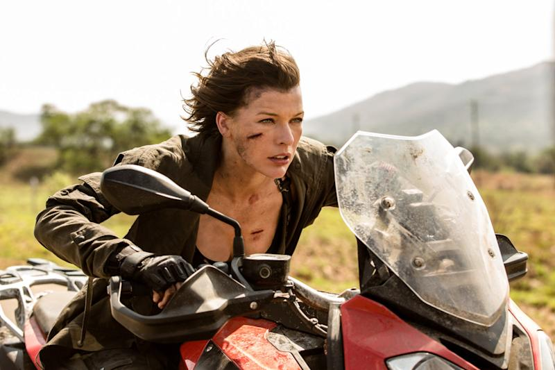Milla Jovovitch in Resident Evil: The Final Chapter (Credit: Constantin Film)