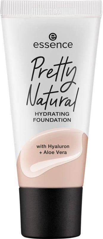 <p>Hyaluronic acid and aloe vera make the <span>Essence Pretty Natural Hydrating Foundation</span> ($7) great for dry skin. It won't settle into dry patches or fine lines even if you wear it for hours on end. </p>