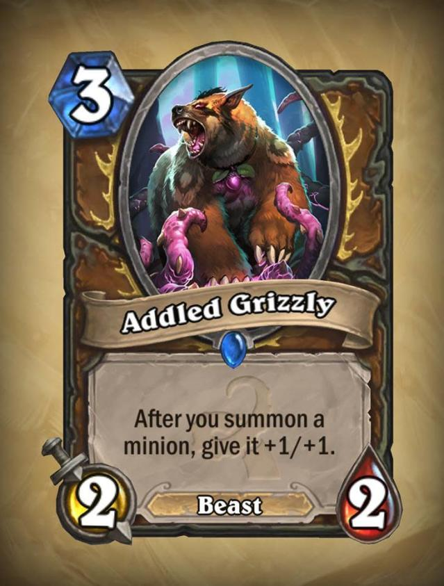 <p>Just consider dropping this right next to Wisps of the Old Gods. That's a whole bunch of 2/2's. Or, you know, anything that summons a bunch of minions.</p>