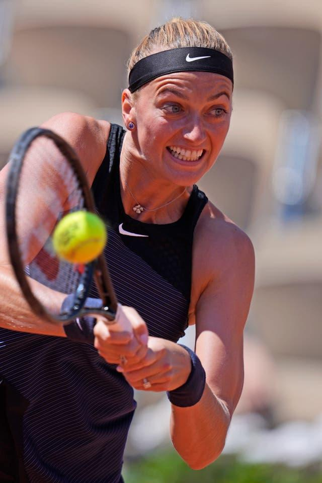 Petra Kvitova was pushed to the limit by Greet Minnen