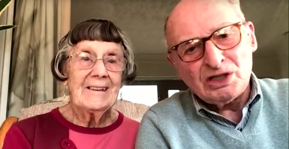 Pauline and Geoffrey appeared on This Morning to talk about their viral video