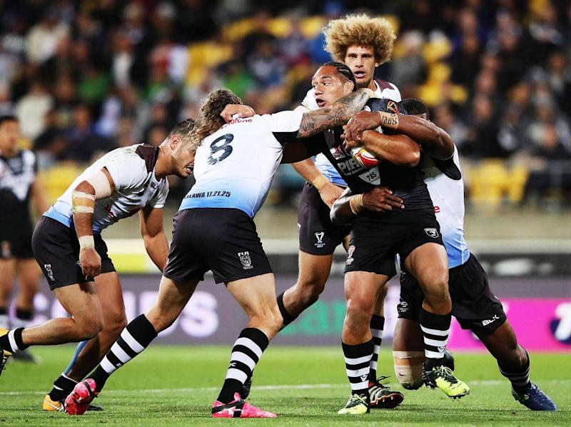 Fiji had the better of the first half (Getty)